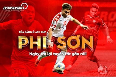 CLB TPHCM thắng trận đầu ở AFC Cup Dấu ấn Trần Phi Sơn  hình ảnh