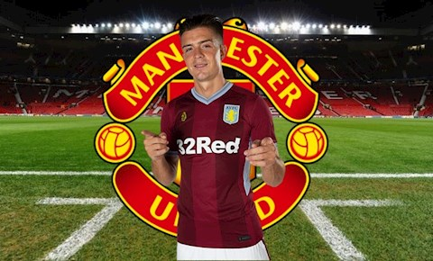 MU mua tiền vệ Grealish của Aston Villa ở Hè 2020 hình ảnh