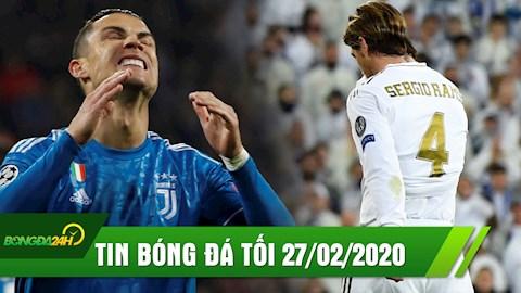 TIN BÓNG ĐÁ TỐI 272 Ronaldo sút phạt dở tệ ở Champions League hình ảnh