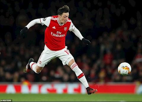 Arsenal 1-2 (2-2) Olympiacos Địa chấn tại Emirates, Pháo thủ chia tay Europa League 201920 hình ảnh 2