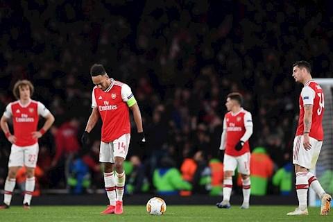 Arsenal bị loại khỏi Europa League Nguồn sống duy nhất giờ là Premier League! hình ảnh 2