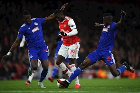 Điểm nhấn trong ngày Arsenal bị loại sốc ở Europa League hình ảnh