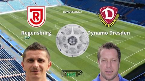 Regensburg vs Dynamo Dresden 0h30 ngày 292 Hạng 2 Đức 201920 hình ảnh
