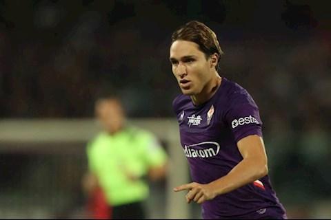 MU muốn mua tiền vệ Federico Chiesa của Fiorentina hình ảnh
