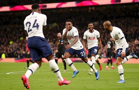 Tottenham 2-0 Man City: Steven Bergwijn