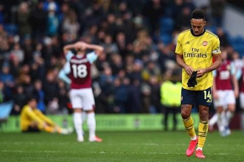 Ian Wright chỉ trích tiền đạo Aubameyang sau trận hòa Burnley hình ảnh