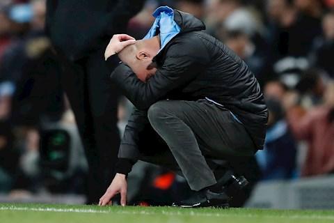 Tottenham 2-0 Man City Pep Guardiola