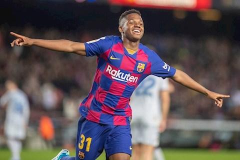 Dortmund muốn mua Ansu Fati thay Sancho hình ảnh