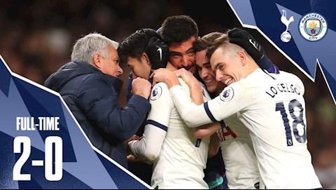 Tottenham 2-0 Man City HLV Jose Mourinho hả hê mỉa mai bại tướng hình ảnh