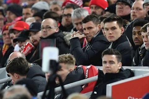 James Milner co mat o san Anfield