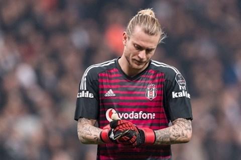 Tương lai thủ môn Loris Karius được Besiktas quyết định hình ảnh