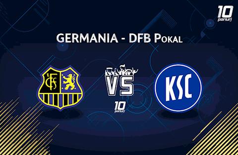 Saarbrucken vs Karlsruher 2h45 ngày 62 Cúp quốc gia Đức 201920 hình ảnh