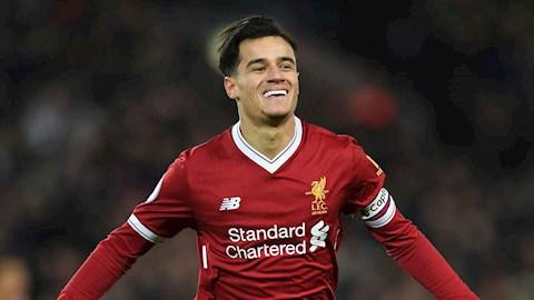 Philippe Coutinho từng là công thần của Liverpool, nhưng hình ảnh