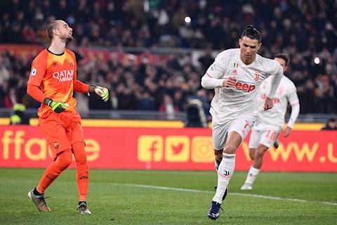 Ronaldo dang co chuoi 9 tran ghi ban lien tiep o Serie A