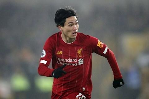 Takumi Minamino tham dự Champions League cùng Liverpool hình ảnh