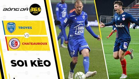 Troyes vs Chateauroux 2h00 ngày 82 Hạng 2 Pháp 201920 hình ảnh