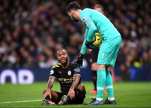 Man City cập nhật tình hình chấn thương của Sterling hình ảnh