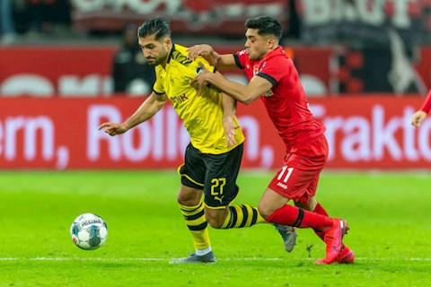 Bàn thắng kết quả Leverkusen vs Dortmund 4-3 Bundesliga 201920 hình ảnh