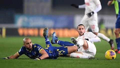 Bàn thắng kết quả Verona vs Juventus 2-1 Serie A 201920 hình ảnh