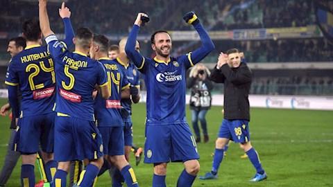 Hellas Verona gianh chien thang soc truoc Juventus