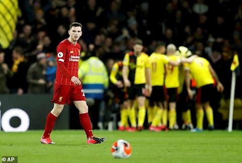 Watford 3-0 Liverpool Thầy trò Klopp đã thảm bại ra dáng đàn ông hình ảnh
