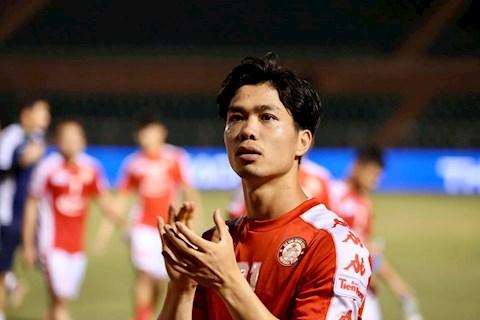 Công Phượng không ra sân trận Hải Phòng vs TP Hồ Chí Minh hình ảnh