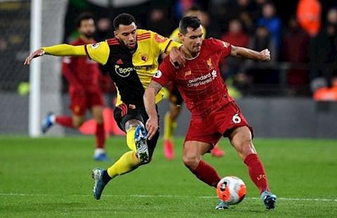 Dejan Lovren chơi tệ trước Watford hình ảnh