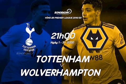 Tottenham vs Wolves vong 28 Ngoai hang Anh 2019/20