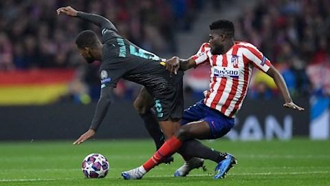Arsenal muốn mua tiền vệ Thomas Partey của Atletico Madrid hình ảnh
