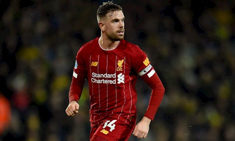 Liverpool đón tin mừng Jordan Henderson trở lại tập luyện hình ảnh
