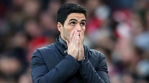 Arteta chỉ ra lý do Man City chơi không tốt gần đây hình ảnh