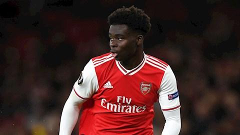 Đội trưởng Watford ca ngợi sao trẻ Saka của Arsenal hình ảnh