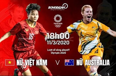 Trực tiếp Nữ Việt Nam vs Nữ Australia - VL Olympic 1132020 hình ảnh