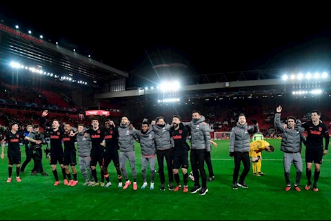 Chưa vào nổi top 4 La Liga, Atletico Madrid đã mơ vô địch C1 hình ảnh