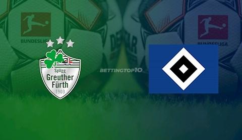 Greuther Furth vs Hamburg 18h30 ngày 175 Hạng 2 Đức 201920 hình ảnh