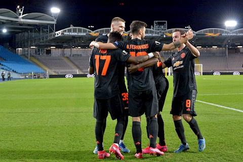 Kqbd Europa League dem qua 13/03: Man United thang de
