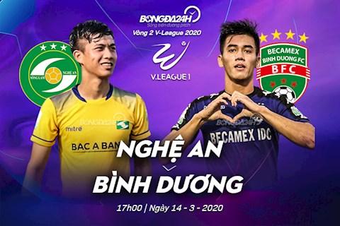 SLNA vs Binh Duong