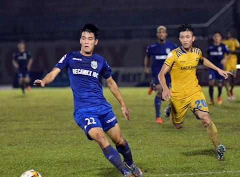 HLV Nguyễn Thanh Sơn chỉ ra nguyên nhân thất bại trên sân Vinh hình ảnh