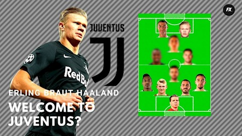 Juventus muốn mua tiền đạo Erling Haaland ở Hè 2020 hình ảnh