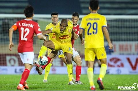 Rafaelson Nam Dinh vs Hong Linh Ha Tinh V-League 2020.