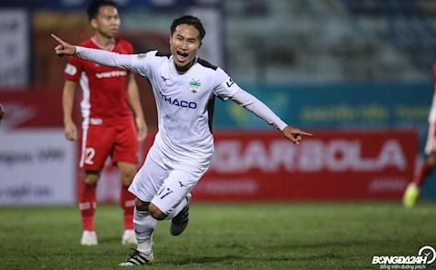 Trieu Viet Hung Viettel 3-3 HAGL vong 2 V-League 2020