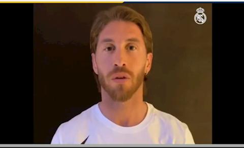 Sergio Ramos gửi thông điệp cách ly mùa dịch Covid-19 hình ảnh
