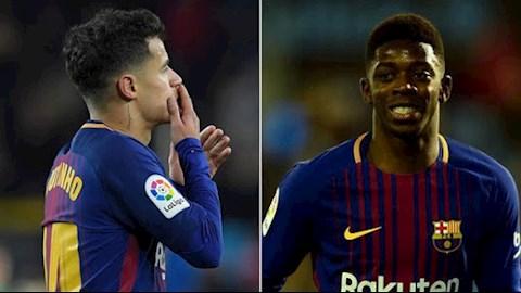 Chuyển nhượng Barca hy sinh Dembele và Coutinho để có Neymar hình ảnh