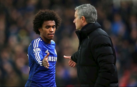 Willian va Mourinho tung hop tac tot o Chelsea