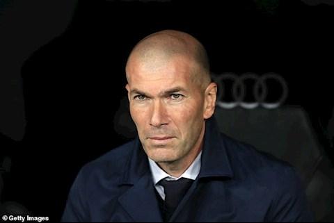 HLV Zidane phấn khích sau trận đấu Real Madrid vs Barca hình ảnh