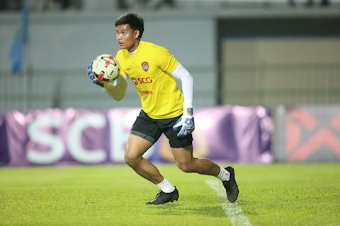 Đối thủ của Văn Lâm được vinh danh ở Thai League hình ảnh