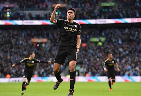 Aston Villa 1-2 Man City Rodri an mung