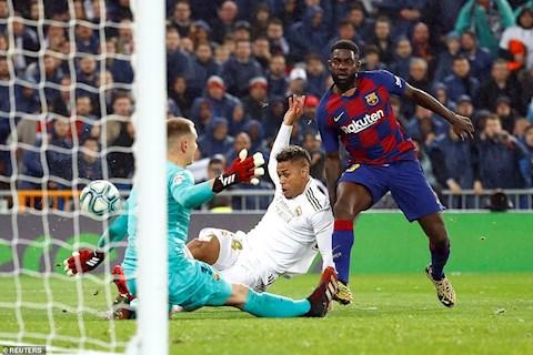 Real 2-0 Barca Mariano Diaz