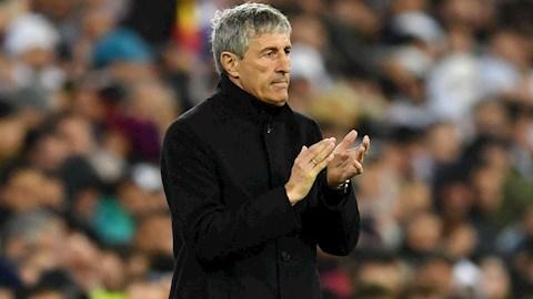 HLV Setien vui vẻ và lạc quan dù Barca thua đau Real Madrid hình ảnh
