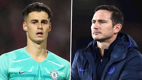 Lampard được khuyên giải quyết mâu thuẫn với Kepa hình ảnh